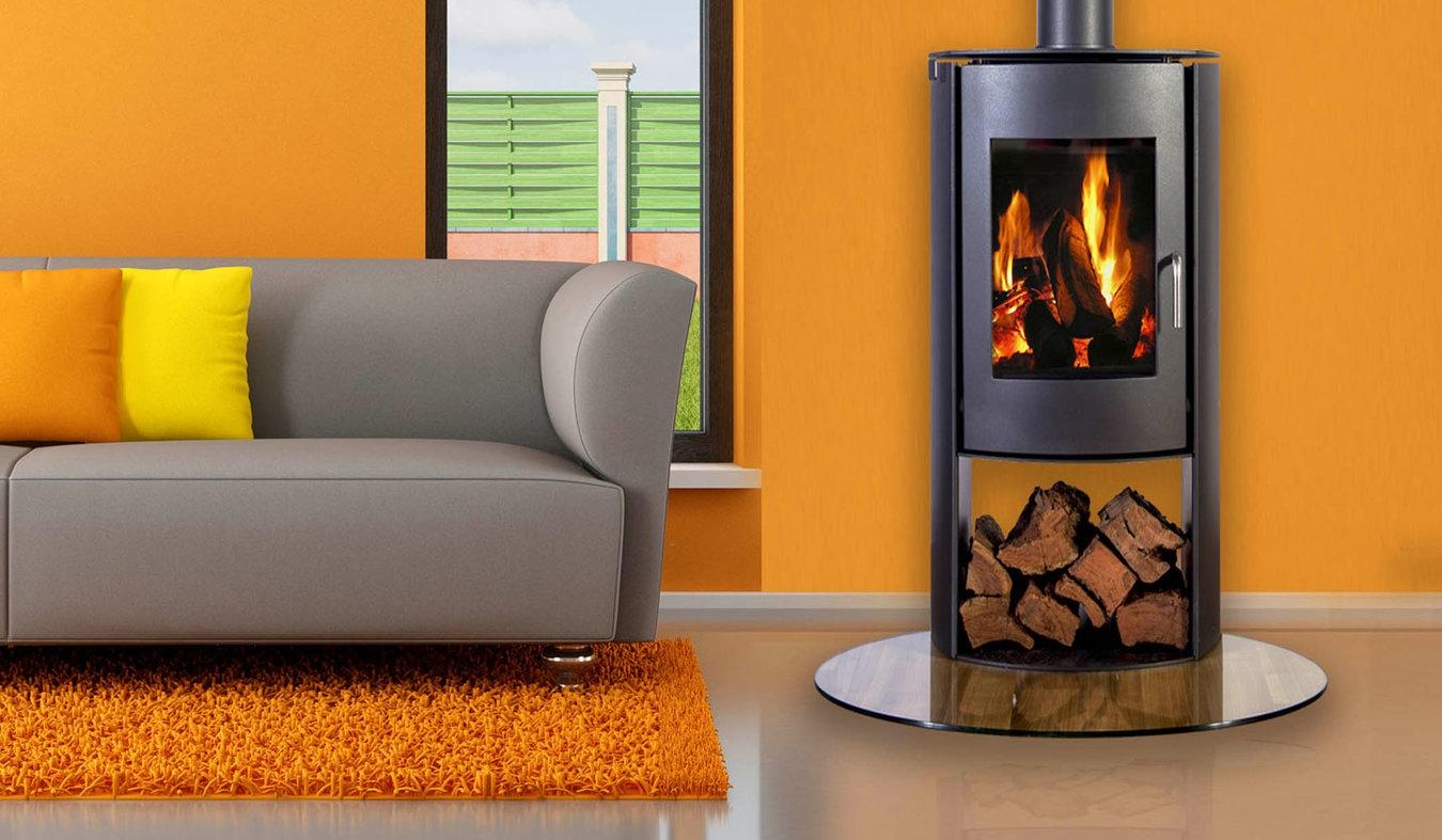 Nectar N65 Freestanding Wood Fire The Heatstore