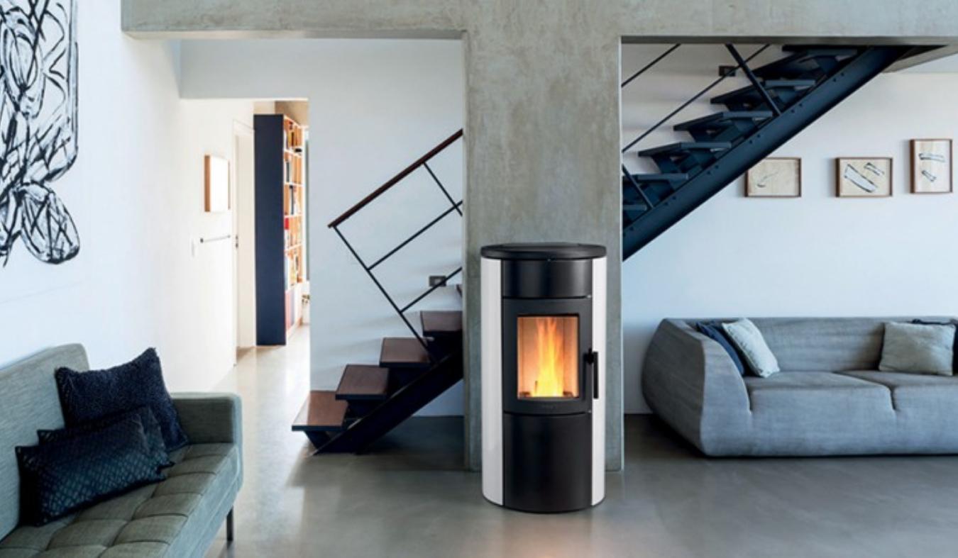 Freestanding Pellet Fires Heatstore